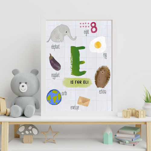 Personalised Name (Letter) Print