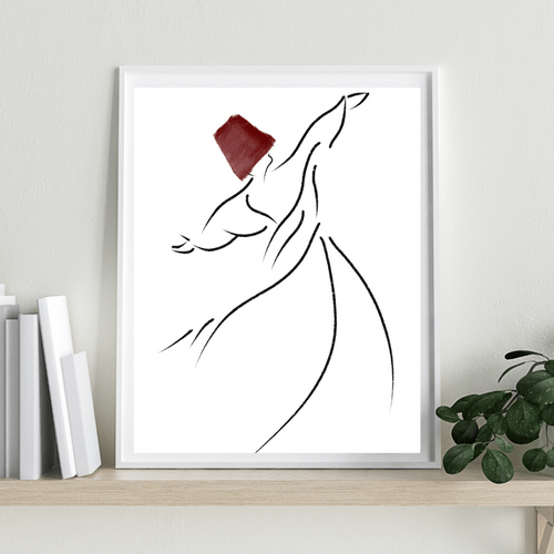 Whirling Dervish, Red