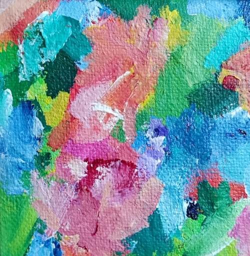 Hope in Bloom  (20 x 20 cm)