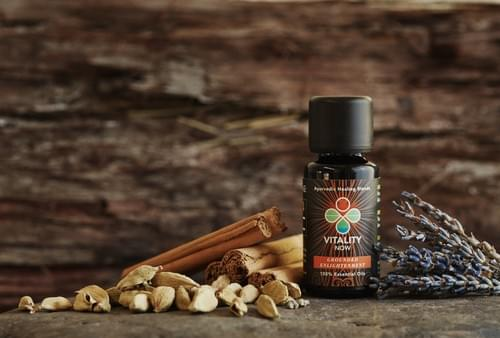 Vata Blend: Grounded Enlightenment Essential Oil by Kimmana