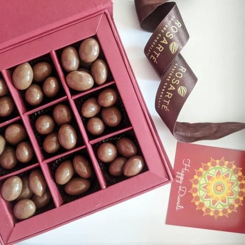 Boxes of Chocolate Covered Almonds