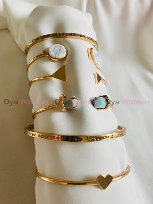 Marble Layer Bracelets