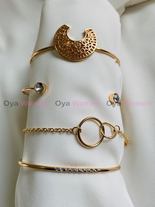 4 layer bracelets