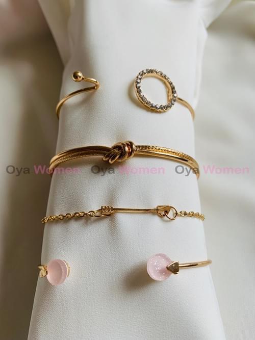 Pink Layer bracelets