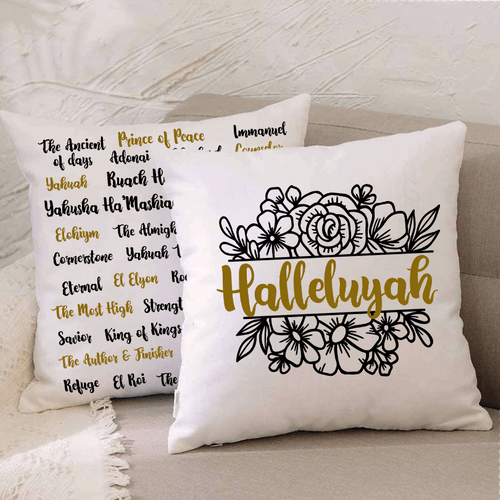 Halleluyah Pillow Set