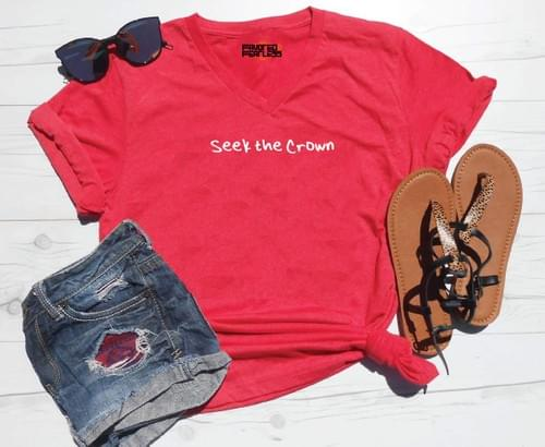 Seek the Crown V-Neck