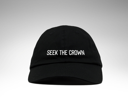 Seek the Crown Dad Hat