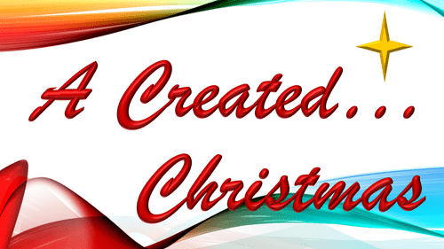 A Created... Christmas Concert Adult Ticket