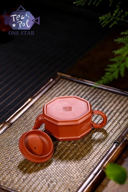 Cube Bamboo Teapots
