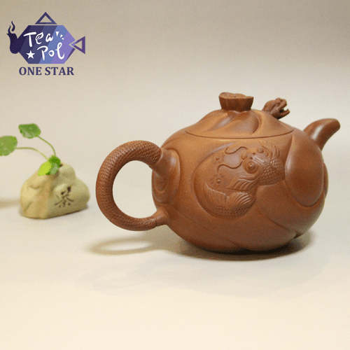 fish-shaped dragon pot