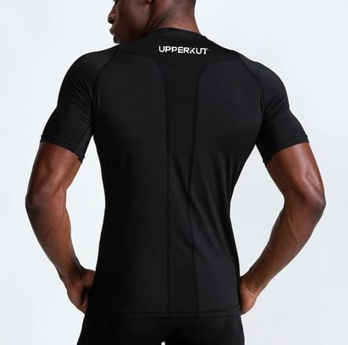 UPPERKUT Compression II Crew Neck Shirt Black I BACK IN STOCK