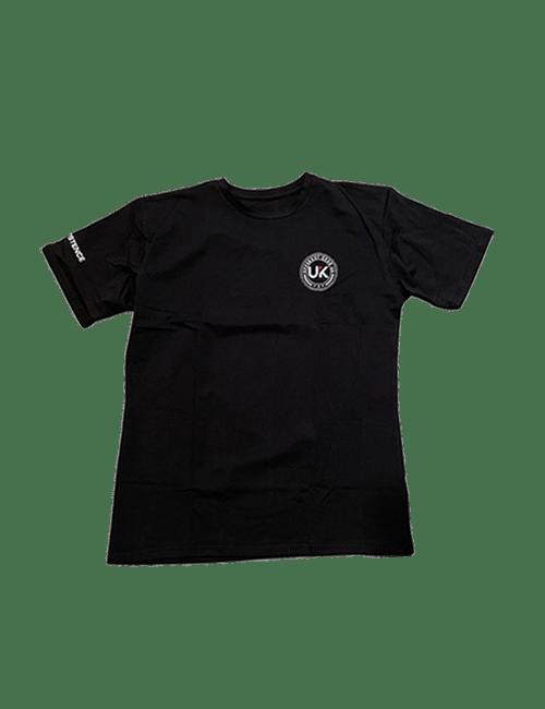 UPPERKUT Gear Persistence Crew Neck T-shirt I Black