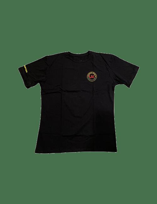 UPPERKUT Gear Persistence Crew Neck Urban T-shirt I Black