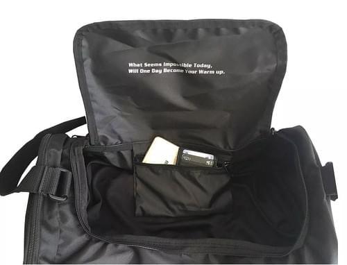 UPPERKUT MEN'S GYM BAG I Black