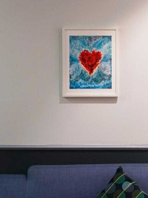 """Spirit of the Heart"" Art Print"
