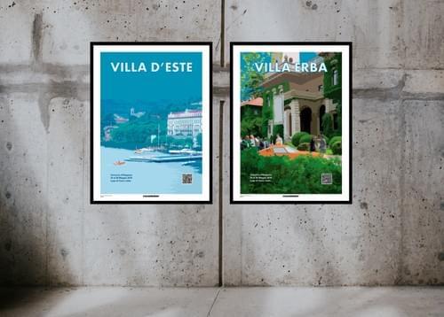 Posters Concorso d'Eleganza Lago di Como