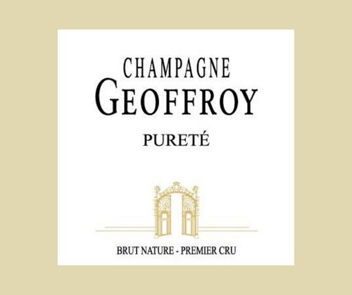 Pureté | Champagne Geoffroy | AOC Champagne | Premier cru | Brut nature | 75cl