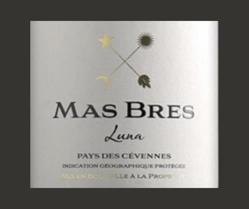 Luna 2019 | Mas Brès | IGP Cévennes | Label AB | Rouge 75cl