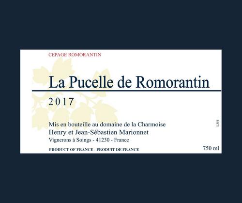 La Pucelle de Romorantin 2017 | Henry Marionnet | AOC Tourraine | Blanc sec 75cl