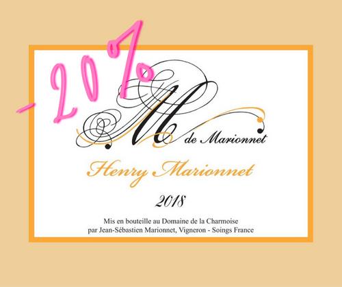 M de Marionnet 2018   Henry Marionnet   AOC Touraine   Blanc sec 75cl