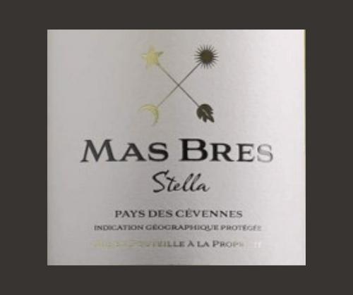 Stella 2017 | Mas Brès | IGP Cévennes | Label AB | Blanc sec 75cl
