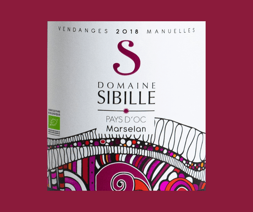 Marselan 2018 | Domaine Sibille | IGP Pays d'Oc | Label AB | Rouge 75cl