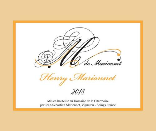 M de Marionnet 2018 | Henry Marionnet | AOC Touraine | Blanc sec 75cl