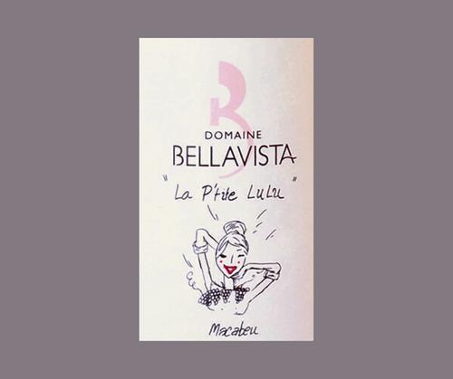 La P'tite Lulu 2017   Domaine Bellavista   IGP Côtes Catalanes   Label AB   Blanc sec 75cl
