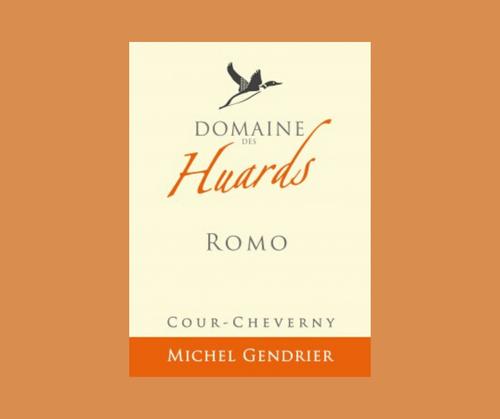 Romo 2018 | Domaine des Huards | AOC Cour-Cheverny |Labels AB et Biodyvin | Blanc sec 75cl