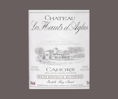 Château Les Hauts d'Aglan 2015 | AOC Cahors | Rouge 75cl