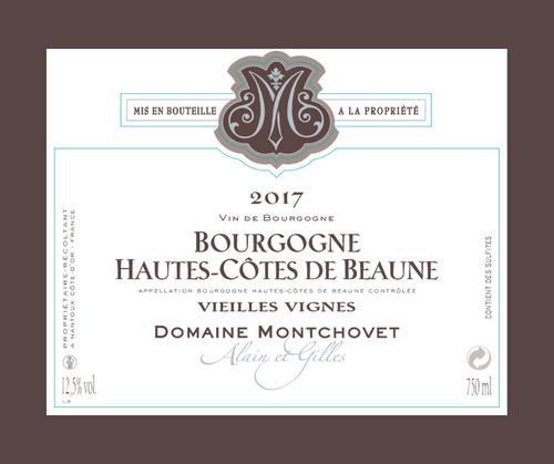Vieilles Vignes 2017 | Domaine Montchovet | AOC Hautes Côtes de Beaune | Rouge 75cl