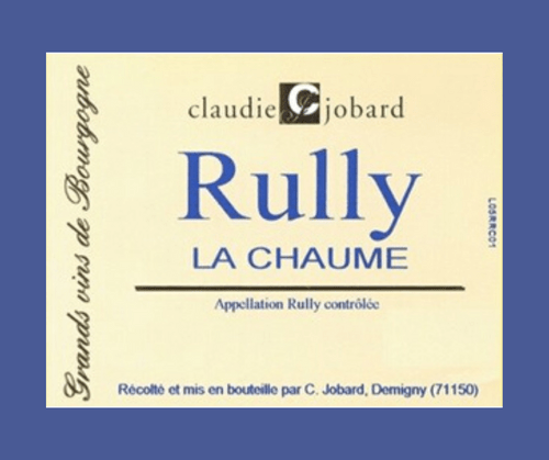 La Chaume 2017 | Domaine Claudie Jobard | AOC Rully | Rouge 75cl