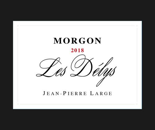 Les Délys   Jean-Pierre Large   AOC Morgon   Rouge 75cl