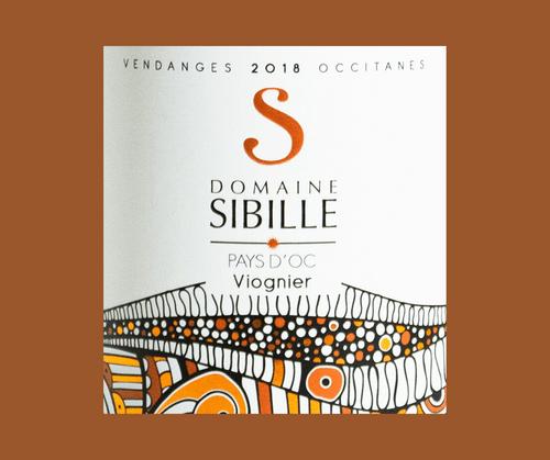 Viognier 2018 | Domaine Sibille | IGP Pays d'Oc | Label AB | Blanc sec 75cl