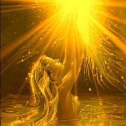 Christed Golden Light