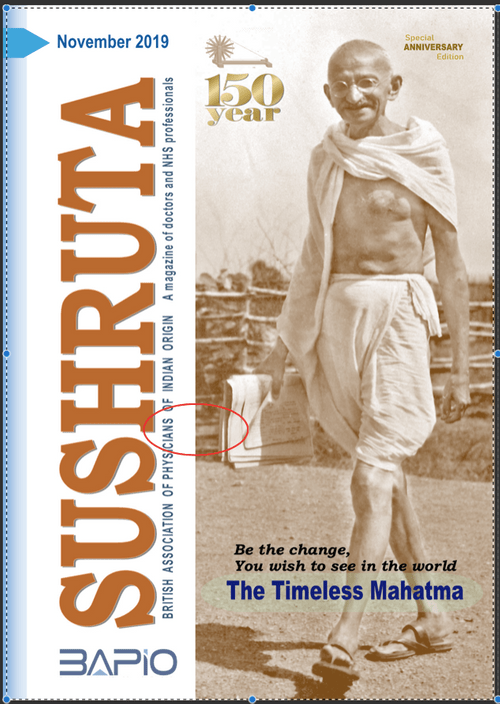 Sushruta Nov 2019 The Timeless Mahatma