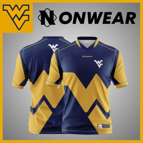 West Virginia University Gamer Jersey