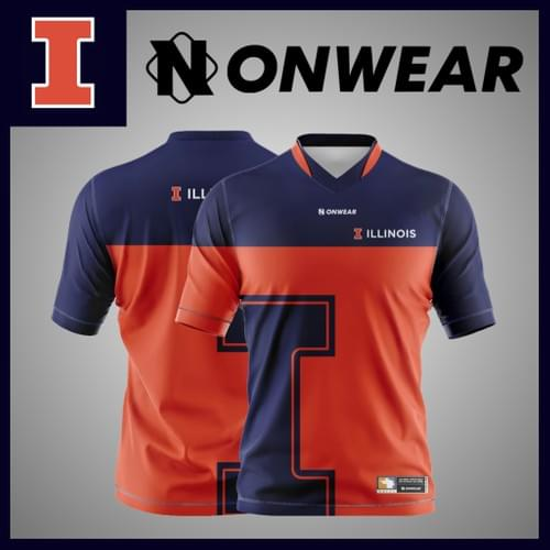 University of Illnois Gamer Jersey