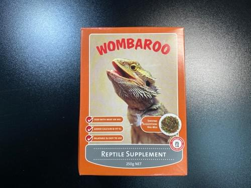 Wombaroo Reptile Supplement - 雜食性爬蟲補充粉 (250g)