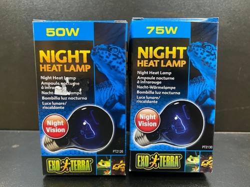 Exo Terra 夜用藍色加熱燈 (50W/75W)