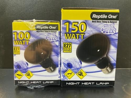 Reptile One 夜用藍色加熱燈 (100W/150W)