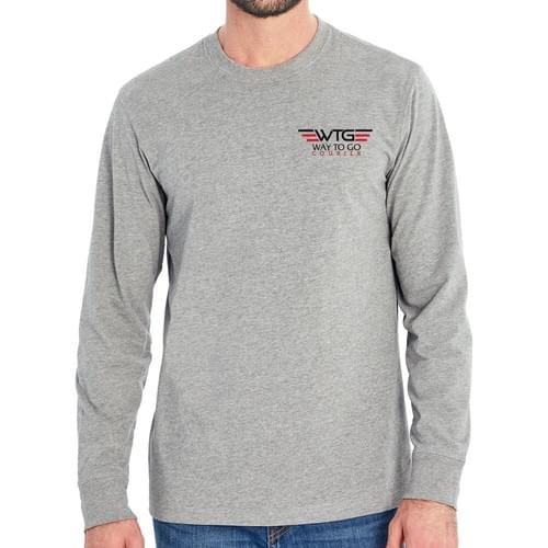 WTG Men's Long Sleeve Crew Tee