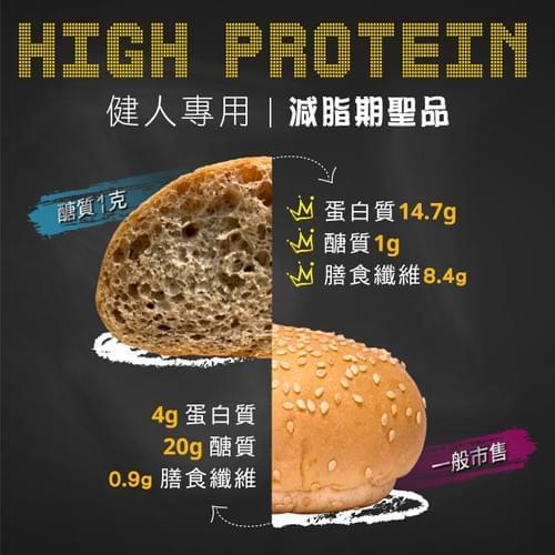 [犇馳BANGO]無澱粉手工麵包 1