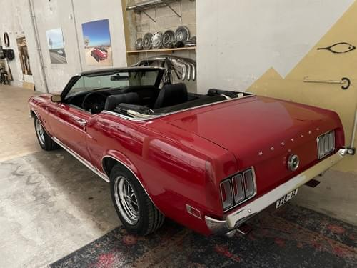 Ford Mustang cabriolet code F 1970