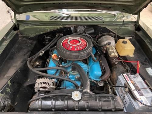 Plymouth Barracuda cabriolet 340 1969