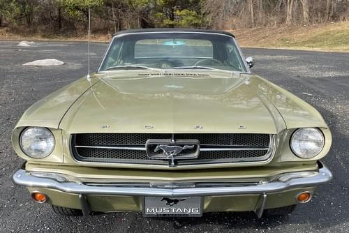 Ford Mustang Cabriolet code A 1965