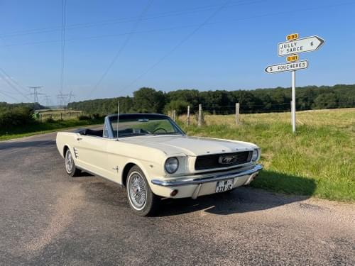 Ford Mustang Cabriolet code C1966