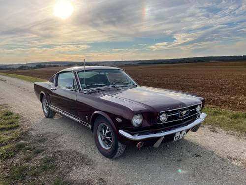 Ford Mustang Fastback GT code K BM4 1966