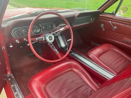 Ford Mustang Fastback Code C 1966
