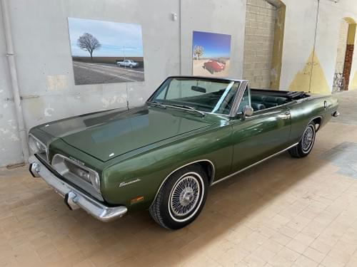 Plymouth Barracuda cabriolet 340 1969